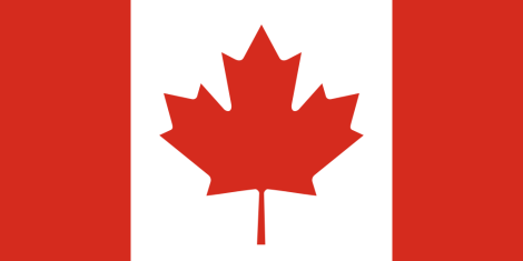 Flag of Canada, courtesy of Wikimedia Commons
