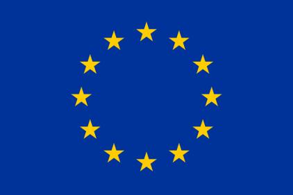 Flag of Europe, courtesy of Wikimedia Commons.