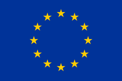 Flag of Europe, courtesy of Wikimedia Commons.